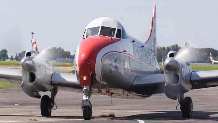 De Havilland D.H.104 Dove Produktionszeit 1945–1964 Stückzahl 528 Bild: D-INKA LTU Classics