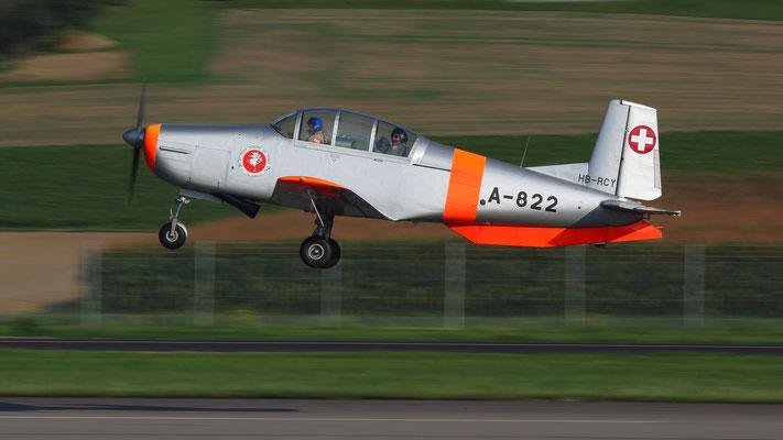 Pilatus P3. Erstflug 1953 - Produktion 1955-1959 79 Stück