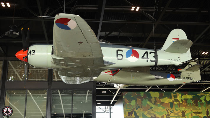 Koninklijke Marine, 6-43, Hawker Aircraft, Sea Fury Mk.5 0
