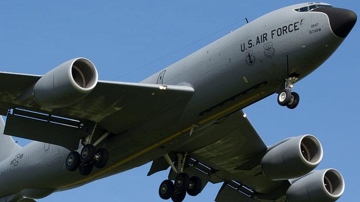 62-3547 USAF United States Air Force Boeing KC-135R Stratotanker