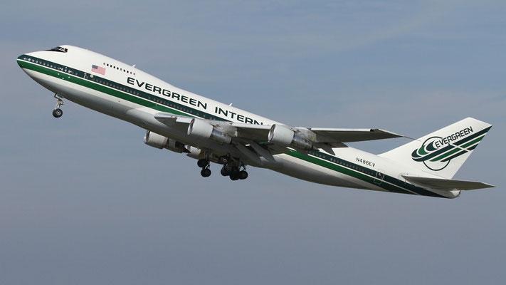 Evergreen International Boeing 747-200SF N486EV