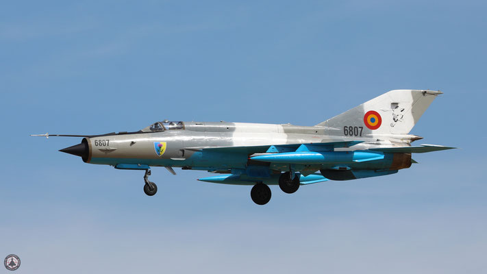 6807 Romanian Air Force Mikoyan-Gurevich Mig-21MF