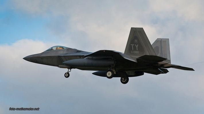 """05-4086 USAF F-22 """"Raptor"""""""
