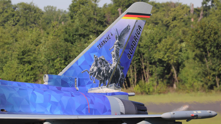 Luftwaffe Eurofighter 31+49 Tranche 4 Quadriga