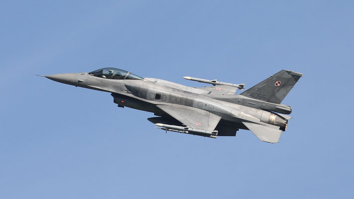 Polish Airforce F-16C 4055 31.BLT