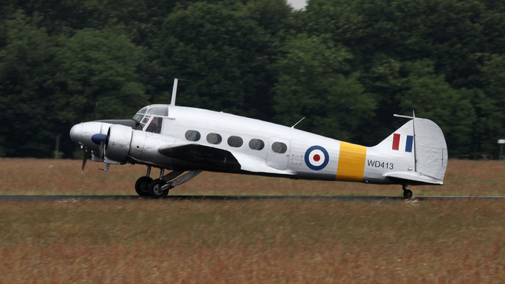 Avro 652 Anson T.21 WD413 G-BFIR build in 1950