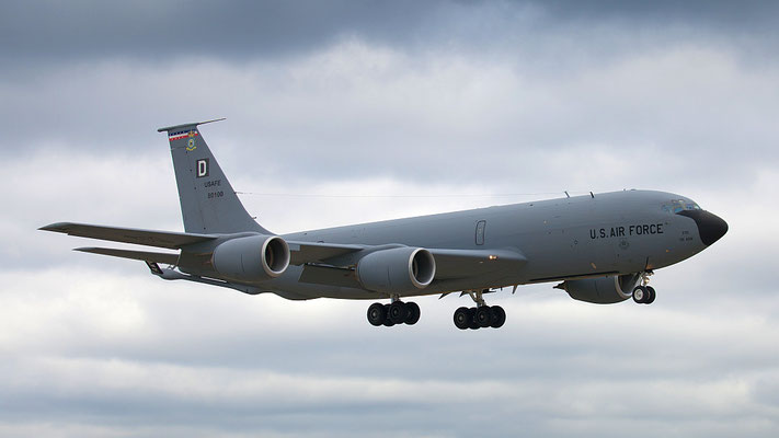 58-0100 USAF United States Air Force Boeing KC-135R Stratotanker