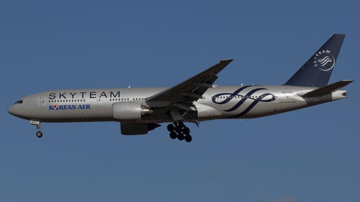 HL7733 Boeing 777-2B5 Korean Air cs Skyteam