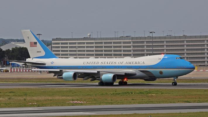 USAF VC-25 28000 Air Force One
