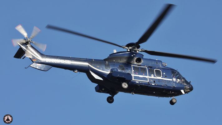 D-HEGF Bundespolizei Eurocopter AS 332 L1 Super Puma