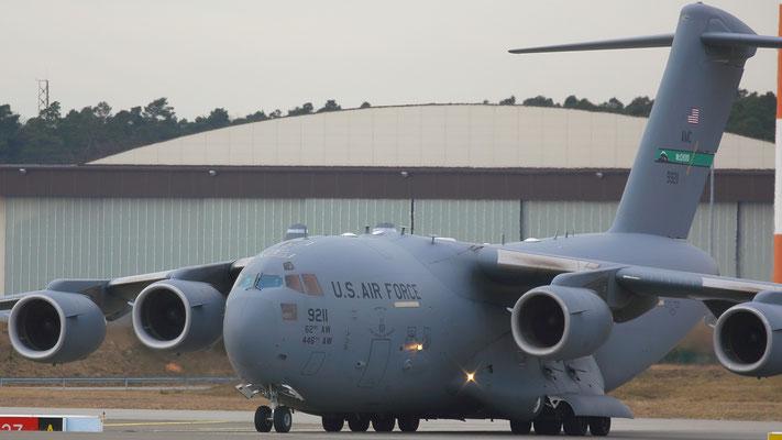 09-9211 BOEING C-17 GLOBEMASTER III USAF