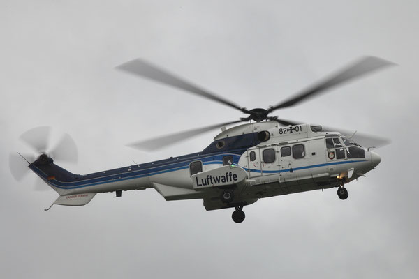 Deutsche Luftwaffe Eurocopter AS-532U2 Cougar MkII 82+01