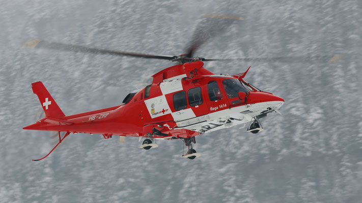 HB-ZRP AgustaWestland AW109SP Rega Swiss Air - Ambulance
