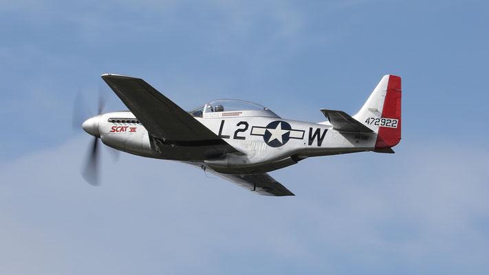Mustang TF-51D-25-NA Serial 44-72922 ScatVII PH-VDF gebaut 1944