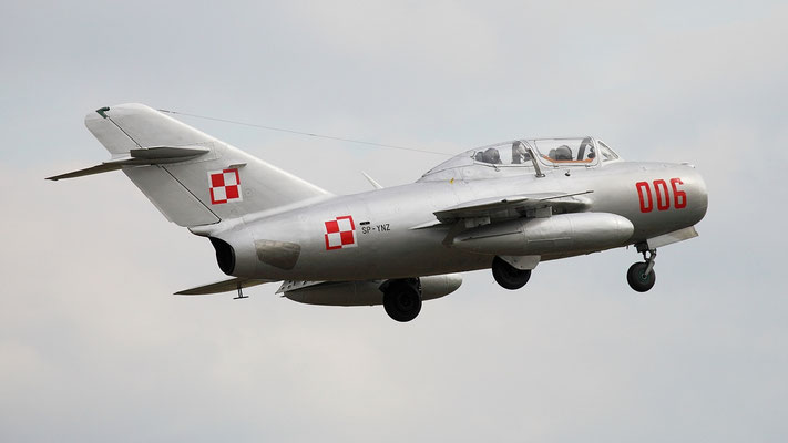 Mikojan MIG-15  Manufactured in Poland 1953- WSK MIELEC Under license