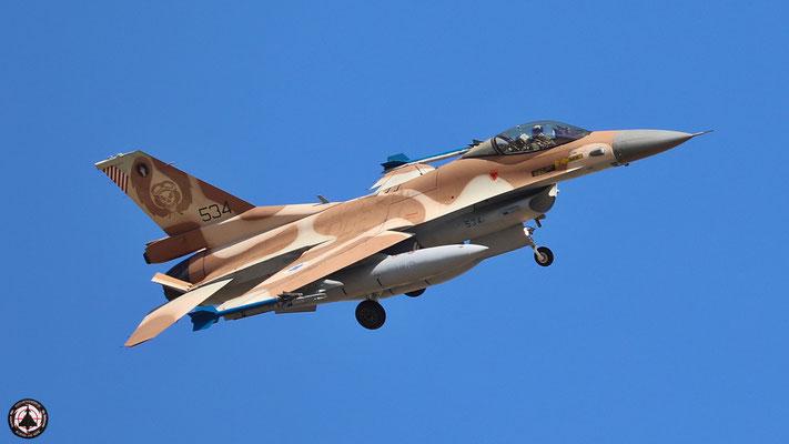 IAF F-16 C Barak 534