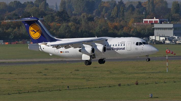 D - AVRA Avro Regional Jet RJ85 Lufthansa Regional (City Line)