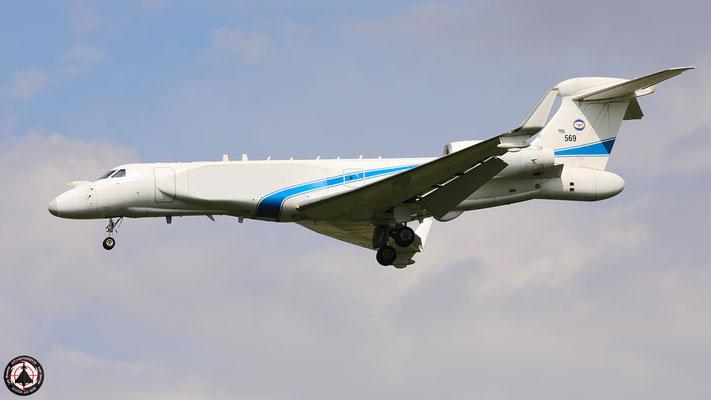 IAF Gulfstream G-550 569