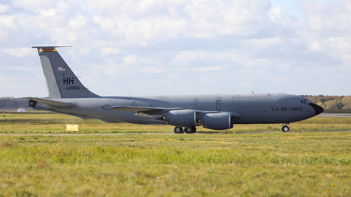 58-0056 Boeing KC-135R Stratotanker US Air Force Hawai ANG