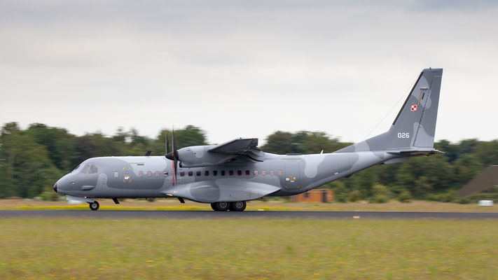 Polish Air Force CASA C-295M 026