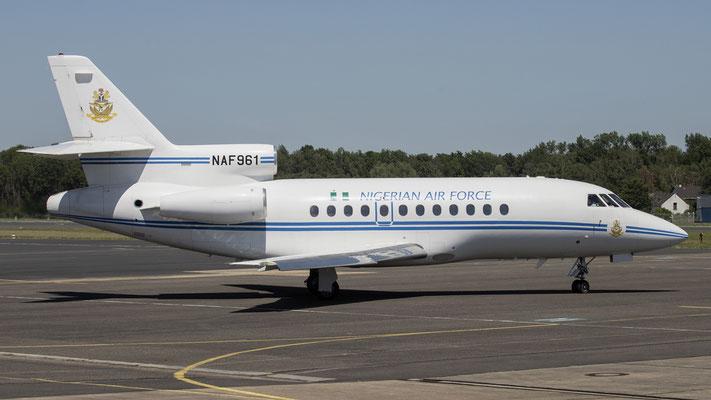 Nigerian Air Force NAF 961  Dassault Falcon-900