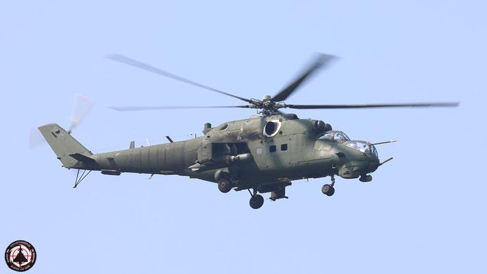 Polish Army  Mil Mi-24 Hind