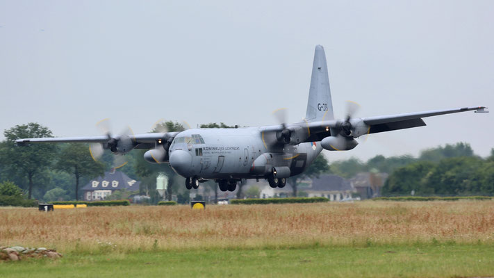 G-275 C-130H Hercules Netherlands Air Force