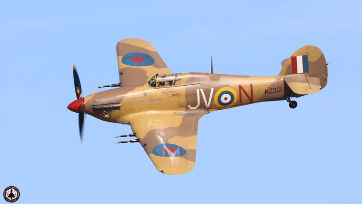 Hawker Hurricane MKIV KZ321 OO-HUR