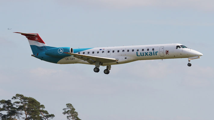 LX - LGY Embraer ERJ-145 Luxair