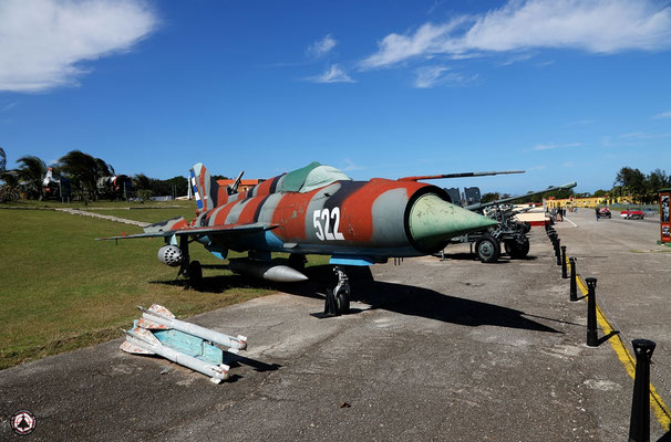 "Morro Cabana Historical Military Park - MIG-21 ""fishbed"" Kubanische Luftwaffe - Fuerzas Armadas Revolucionarias"