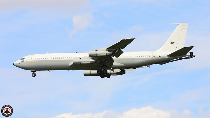 260 Israeli Air Force Boeing 707-3L6C Re'em