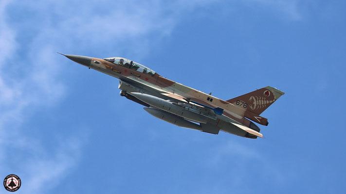 """IAF F-16 D """"Barak"""" 676"""