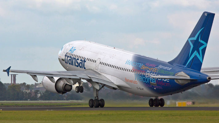 C-GLAT Air Transat  Airbus A310 - MSN 588