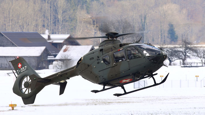 T-357 Swiss Air Force Eurocopter EC635 P2+