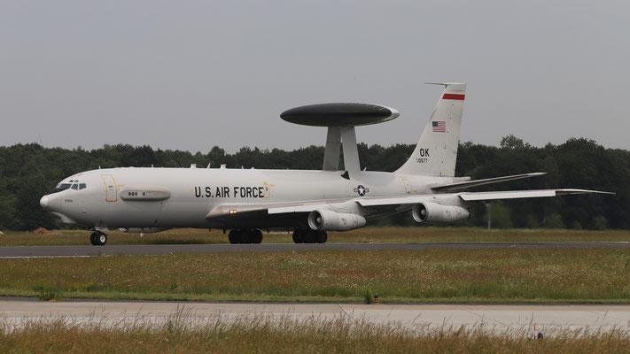 USAF E3C 78-0557 OK 552nd ACW