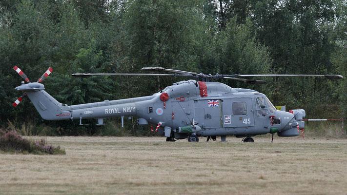 Royal Navy XZ689  Westland Lynx HMA.8