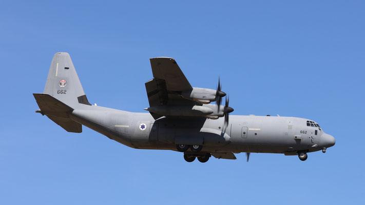 Israel Air Force Hercules C-130-J 662
