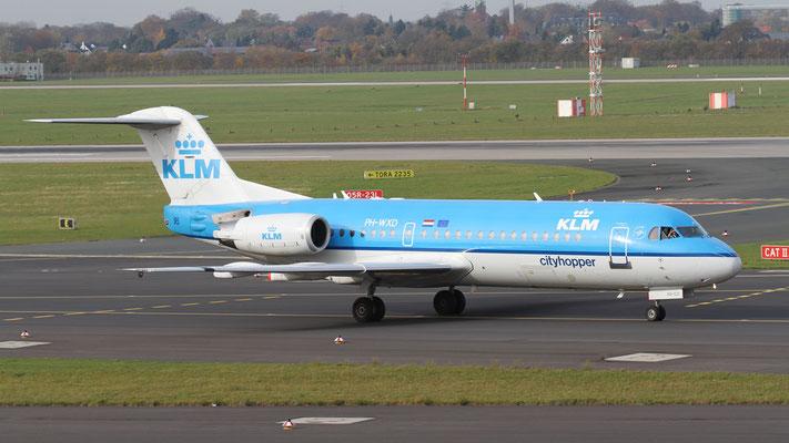 PH-WXD KLM Cityhopper Fokker F70
