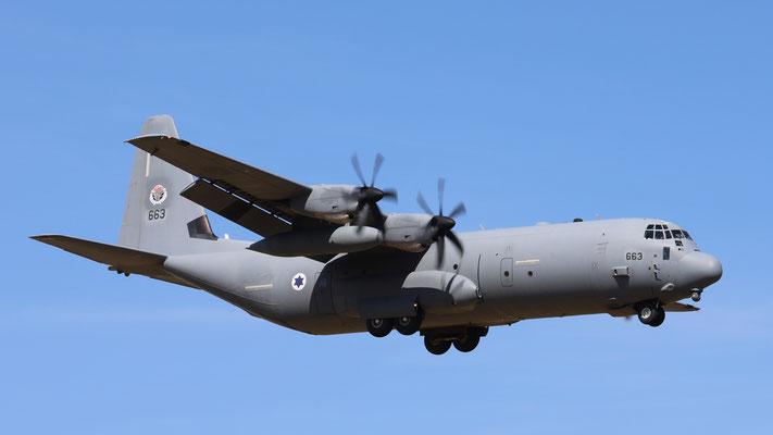 Israel Air Force Hercules C-130-J 663
