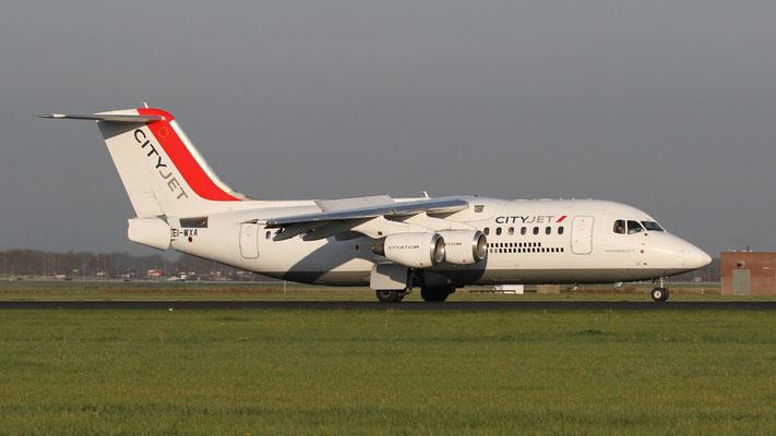 EI-WXA British Aerospace Avro RJ85 Cityjet
