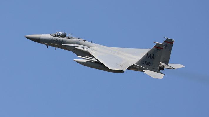 USAF F-15C MA86-158 131FS/104FW