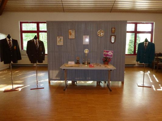 Kleine Ausstellung im Vereinsheim
