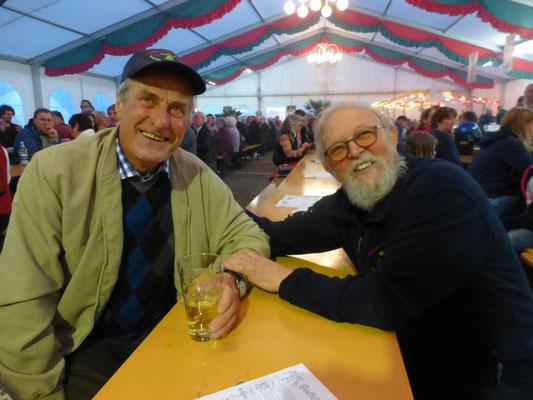Hans Deutinger und Willi Rast