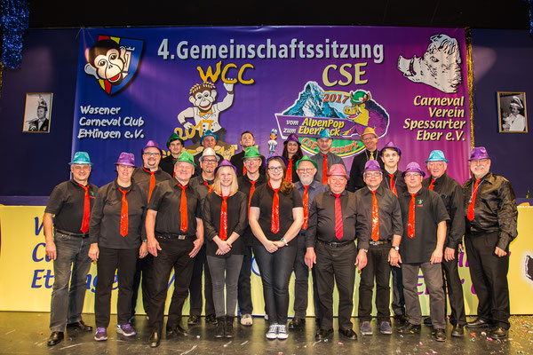 "Die ""Party-Band"" beim WCC"