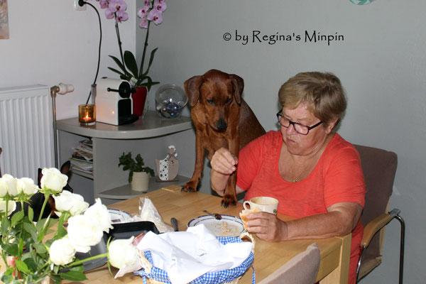 Ach Oma ist bin soooooooooooo hungrig. <3