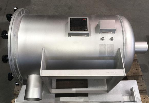 Side View of High Pressure Filter Unit (Fines Return Unit)