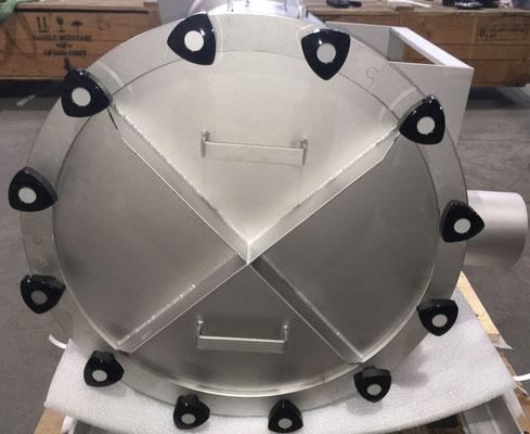 Back View of High Pressure Filter Unit (Fines Return Unit)