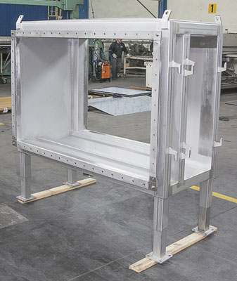 Insulated Casing of an Anytherm Dehumidifying Unit