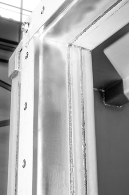 Insulated, pickled and passivated Air Handling Units