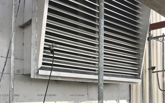 Installation of Air Intake Unit